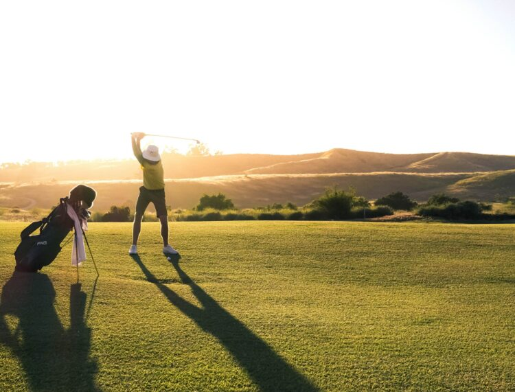 Golf tourist